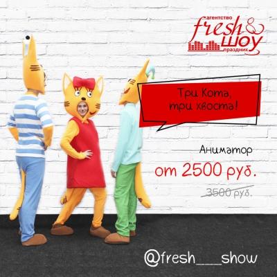 Три кота - аниматор